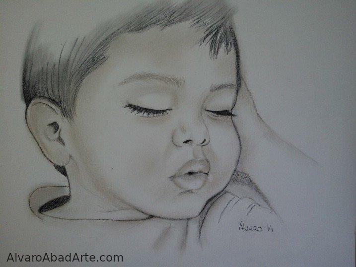 Andrew Retrato Pastel