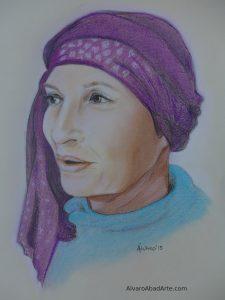 Bruna Retrato Pastel