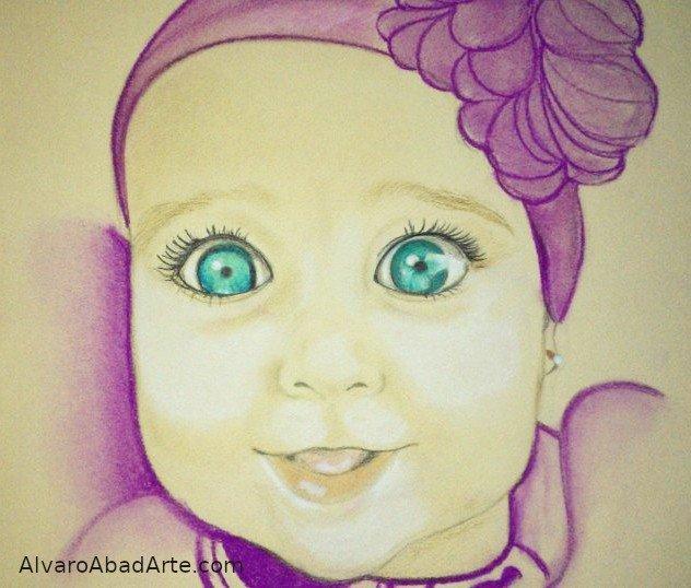 Giovanna Retrato Pastel