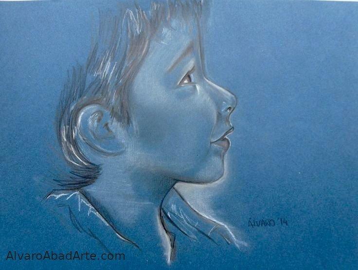 Ismael Retrato Pastel