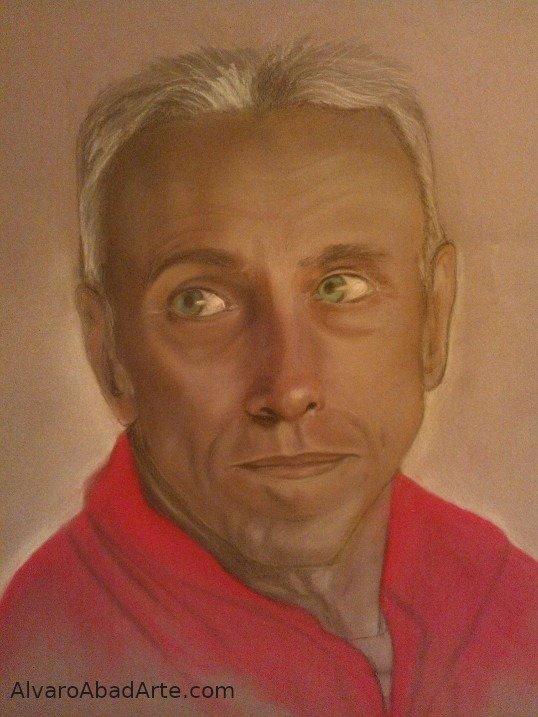 Mi Jorge Pastel Retrato