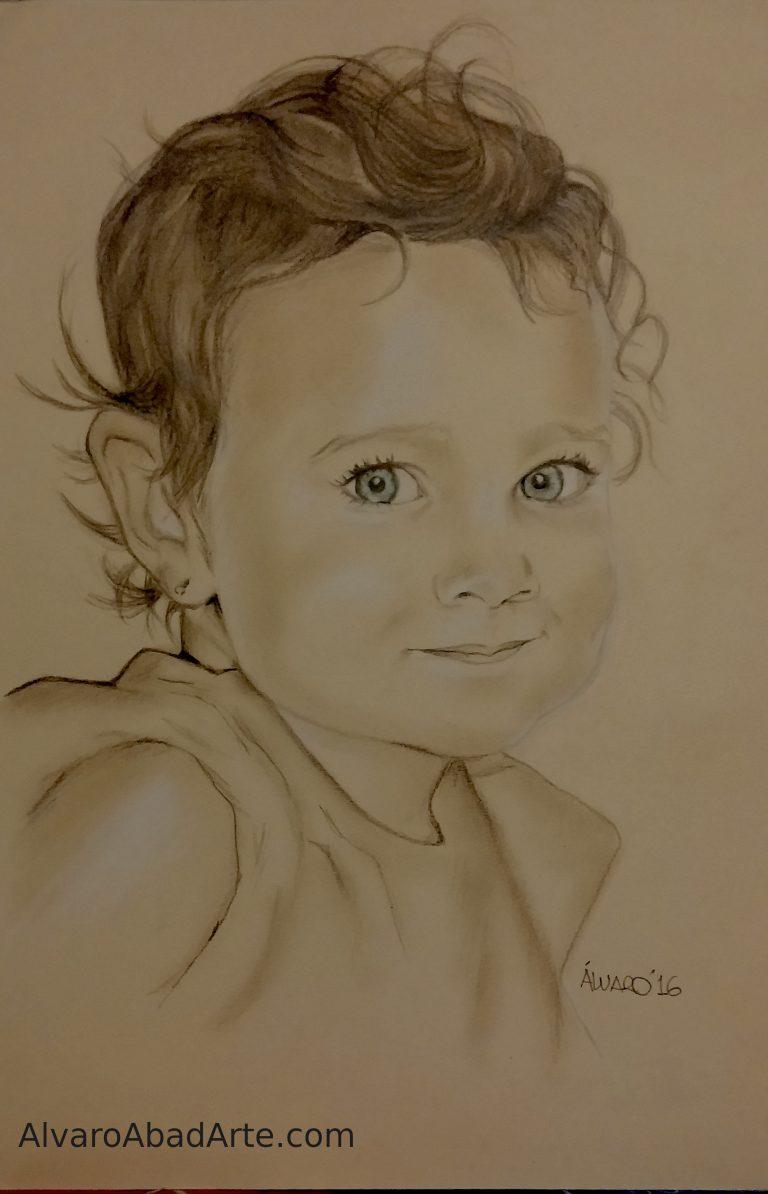 Giovanna II Retrato Niña Pastel