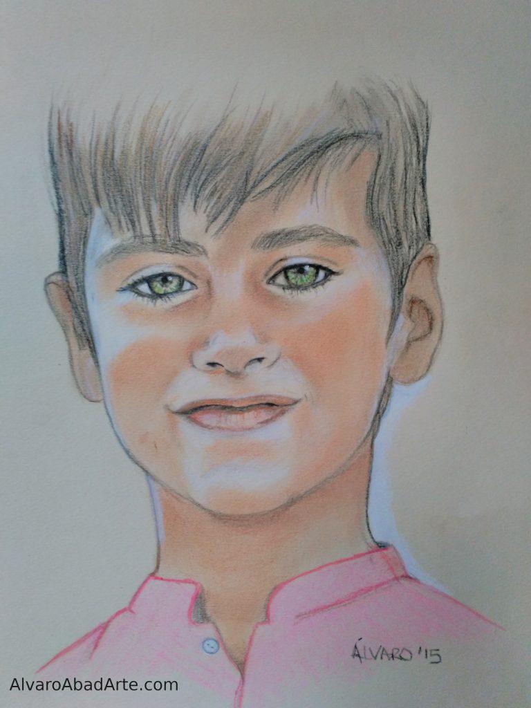 Mi Jacobo Retrato Pastel