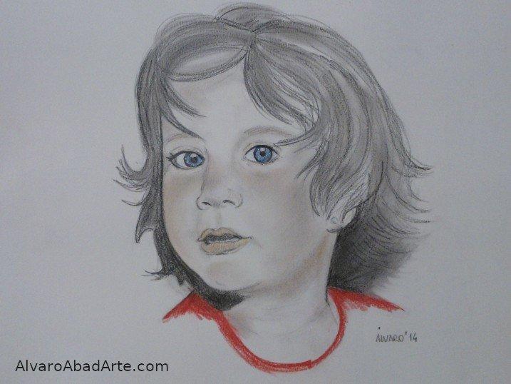 Verónica Retrato Pastel