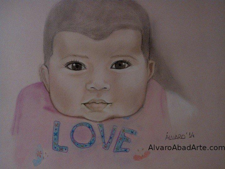 Miranda Retrato Pastel