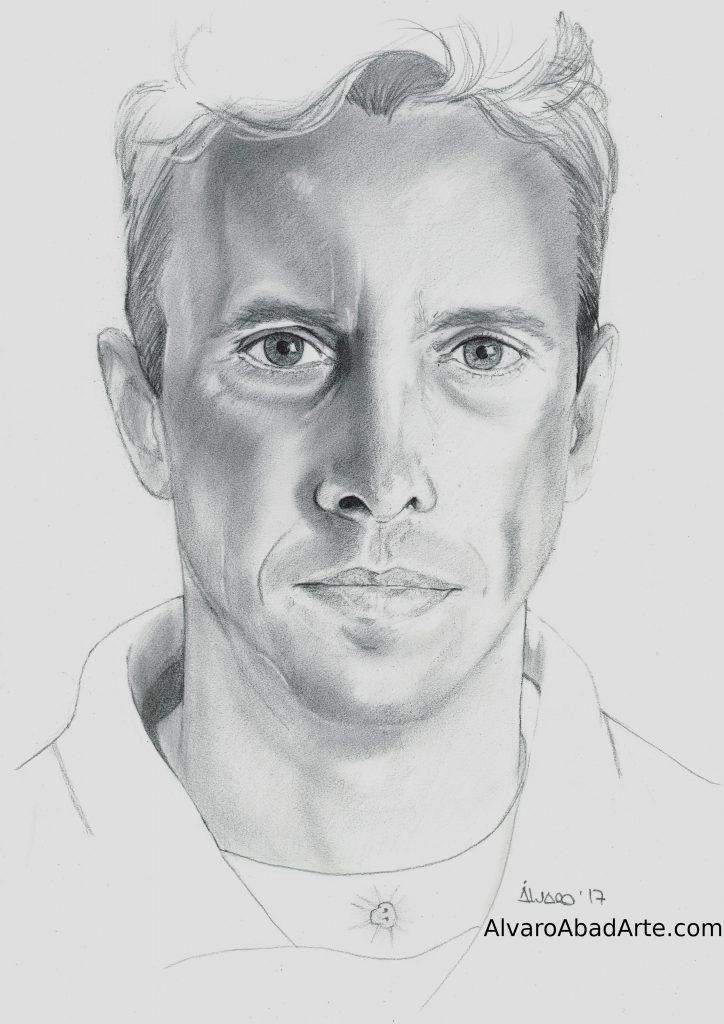 Mi Jorge Retrato Grafito